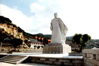 Modern statue of Zheng He in Changle, Fujian
