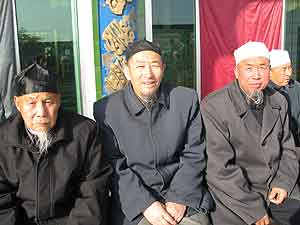 Fig. 5 A picture taken at a ceremony marking the appointment of a new akhund at a mosque in Wuzhong.