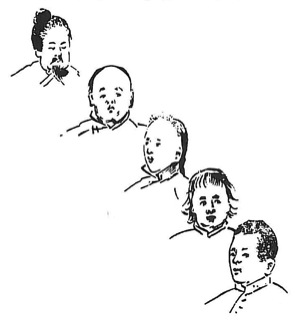 Super The End Of The Queue China Heritage Quarterly Short Hairstyles Gunalazisus
